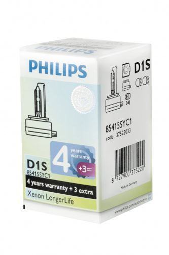 Philips D1S 85415SYC1 Xenon Brenner Long
