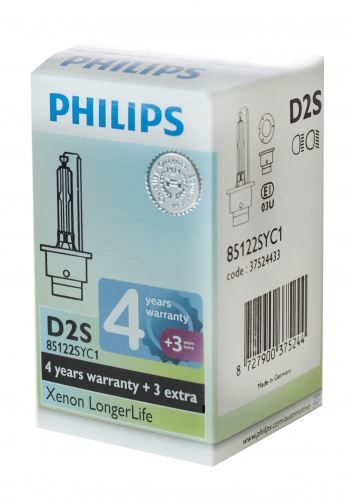 Philips D2S 85122SYC1 Xenon Brenner Long