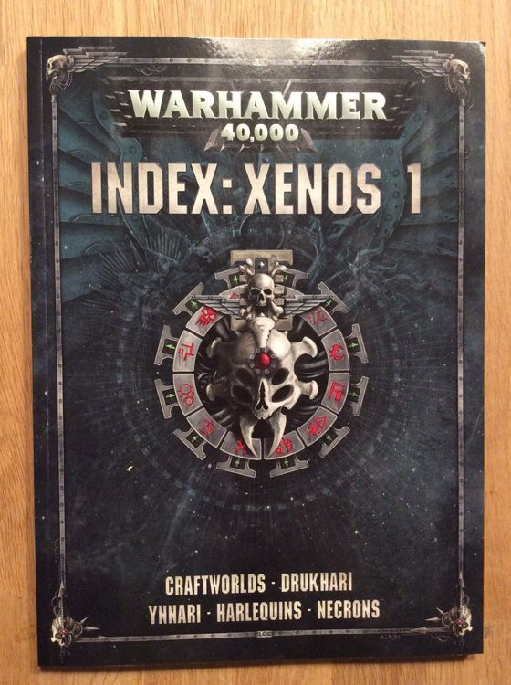 Warhammer 40k Index Xenos 1