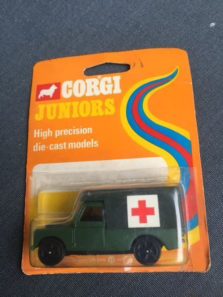 Corgi Juniors Land Rover 1976