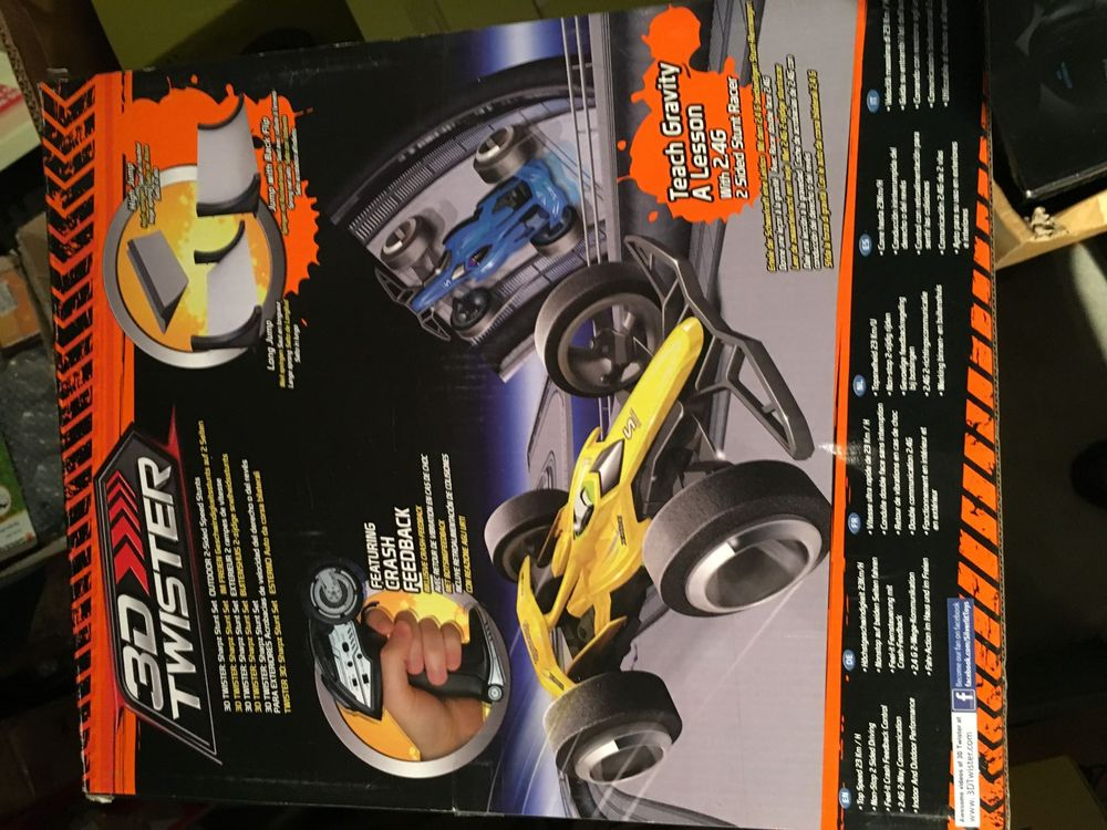 RC 3D Twister 2,4G power in Speed