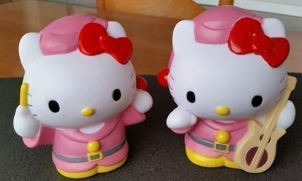 Hello Kitty: 2 Tirelires Sparschwein