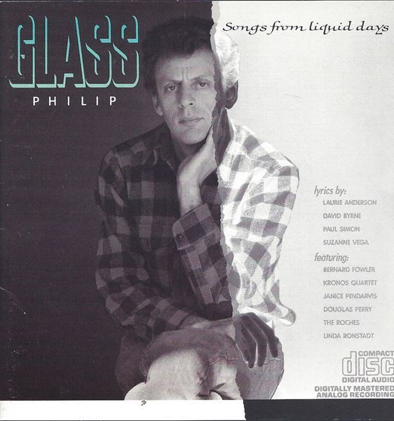 Philip Glass SONGS FROM LIQUID DAYS CD