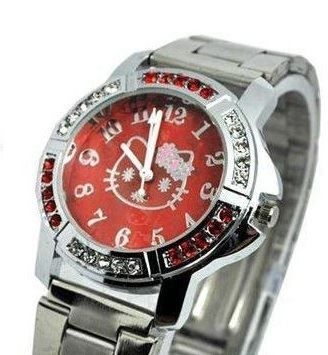 Hello Kitty: 1 montre UC50R Rouge