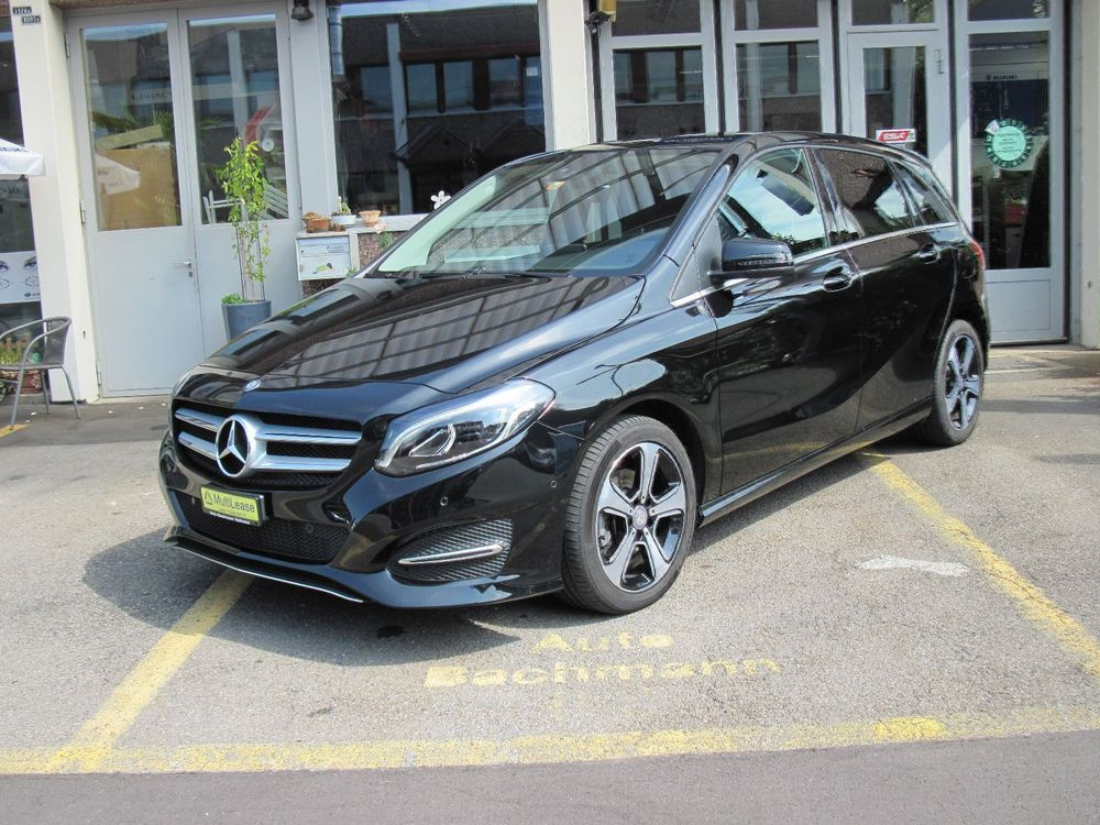 MERCEDES-BENZ B 220 CDI Swiss Star Edition Urban 4Matic 7G-.