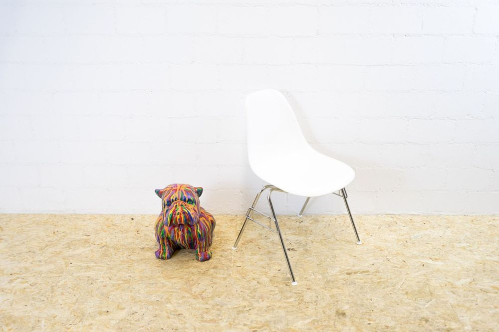 Vitra Eames Plastic Side Chair Weiss