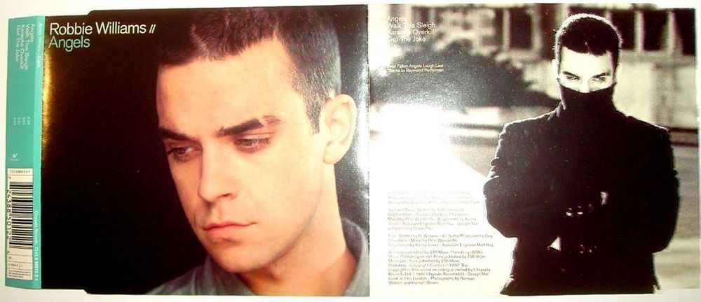 Robbie Williams - Angels -- CD-Single