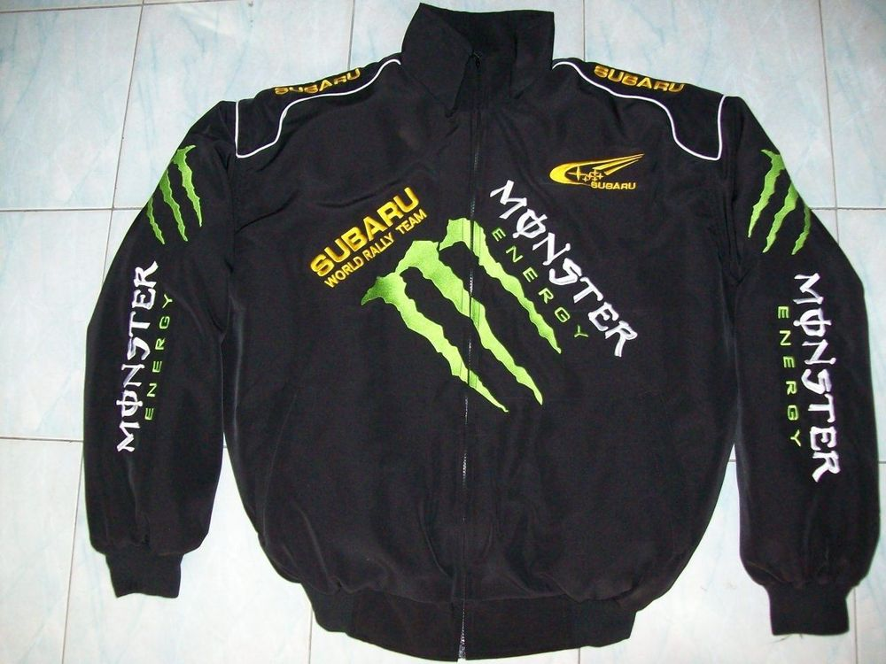 NEU SUBARU Monster Energy Fan Jacke  sch