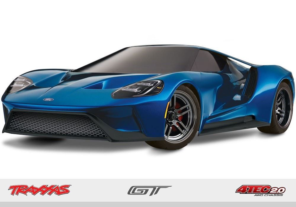 Traxxas   Scale Ford Gt Data Tec
