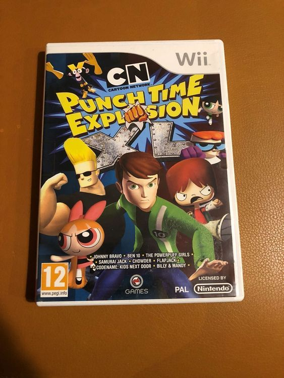 [WII] Punch Time Explosion