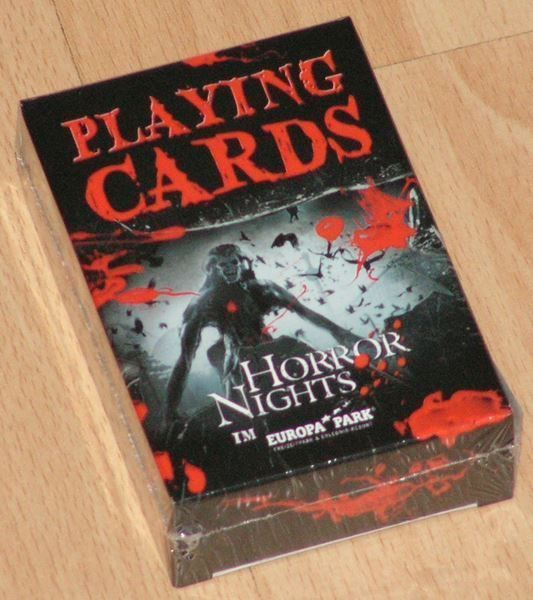Playing Cards / Poker  -  Horror Nights