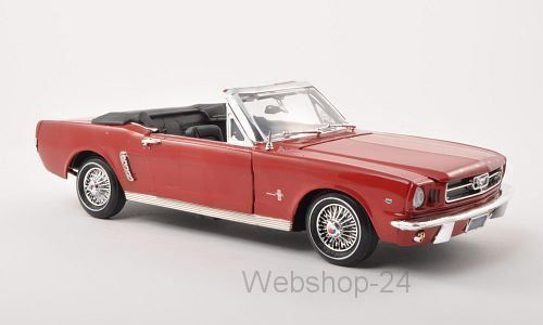 Ford Mustang Convertible, rot, 1964