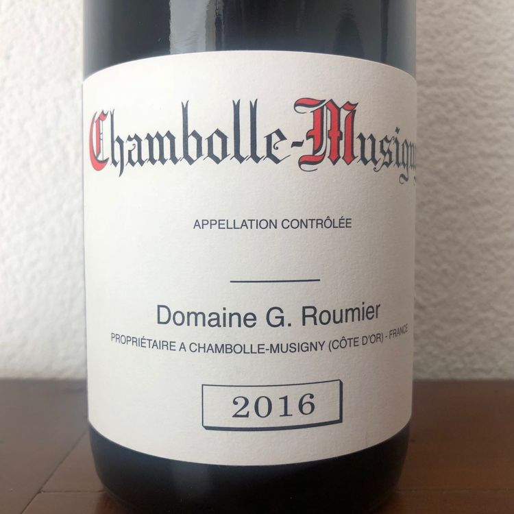 GEORGES ROUMIER CHAMBOLLE-MUSIGNY 2016