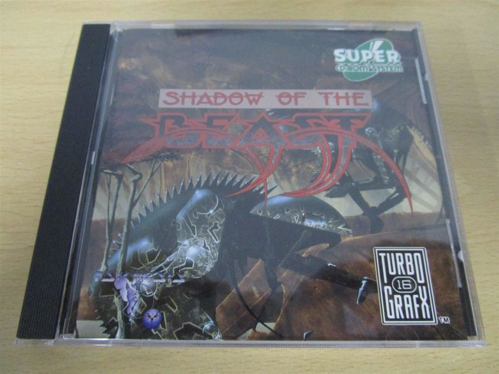 Shadow of the Beast Turbo Grafx 16 CDROM