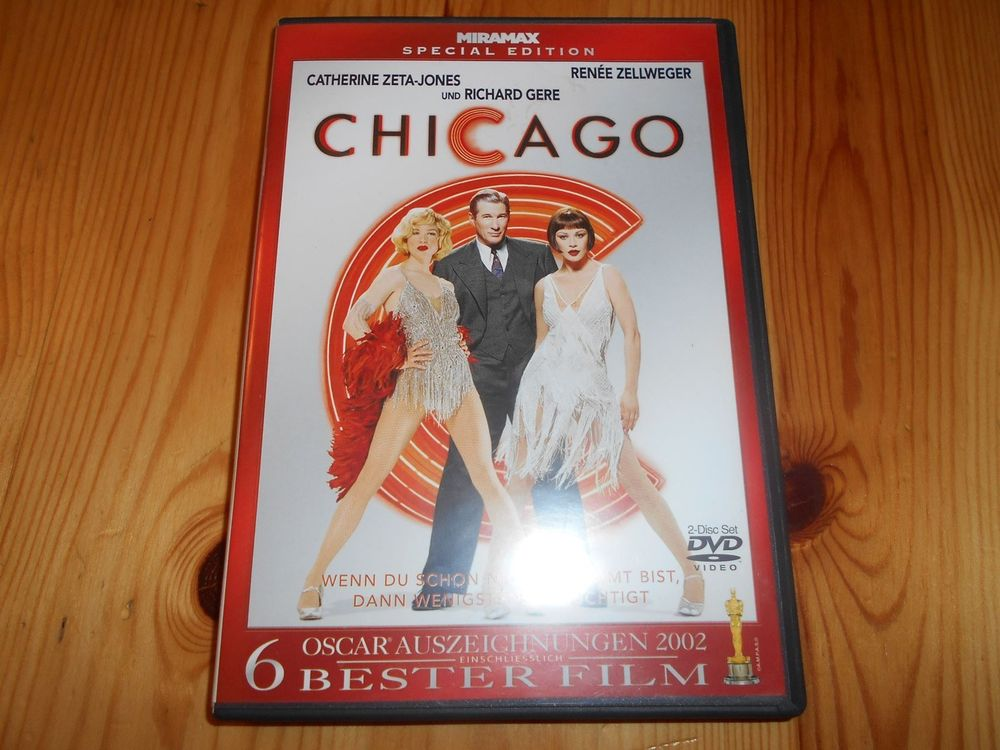 2 DVD Chicaco