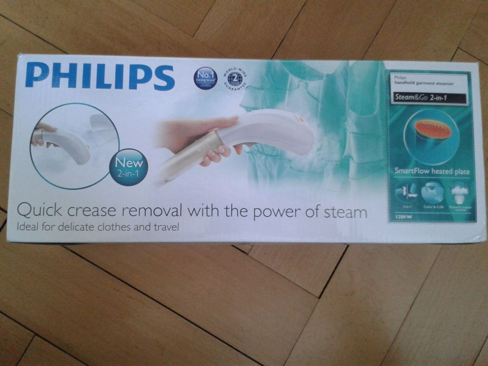 Philips Steam&Go – Dampfbürste