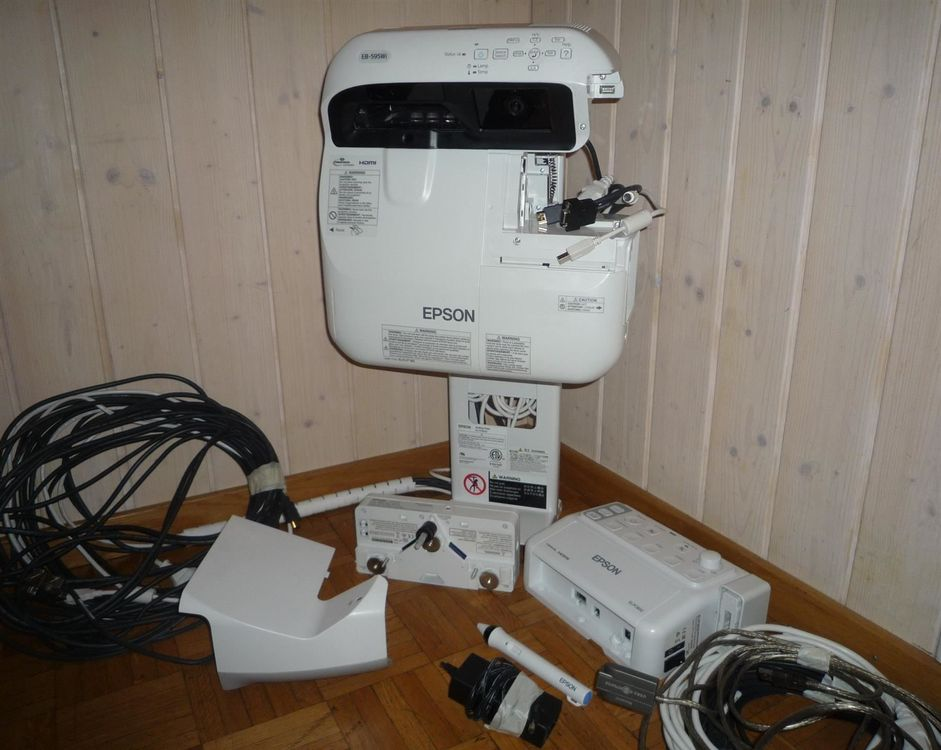 Finger-Touch Projektor Epson EB595Wi