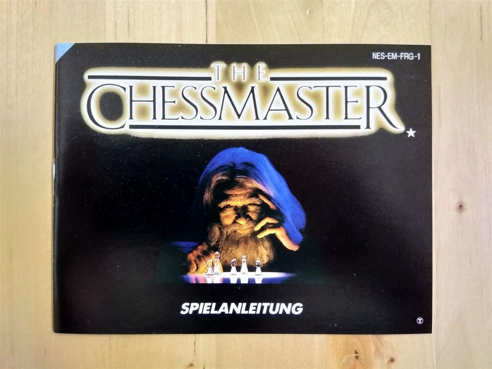 The Chessmaster Spielanleitung NES