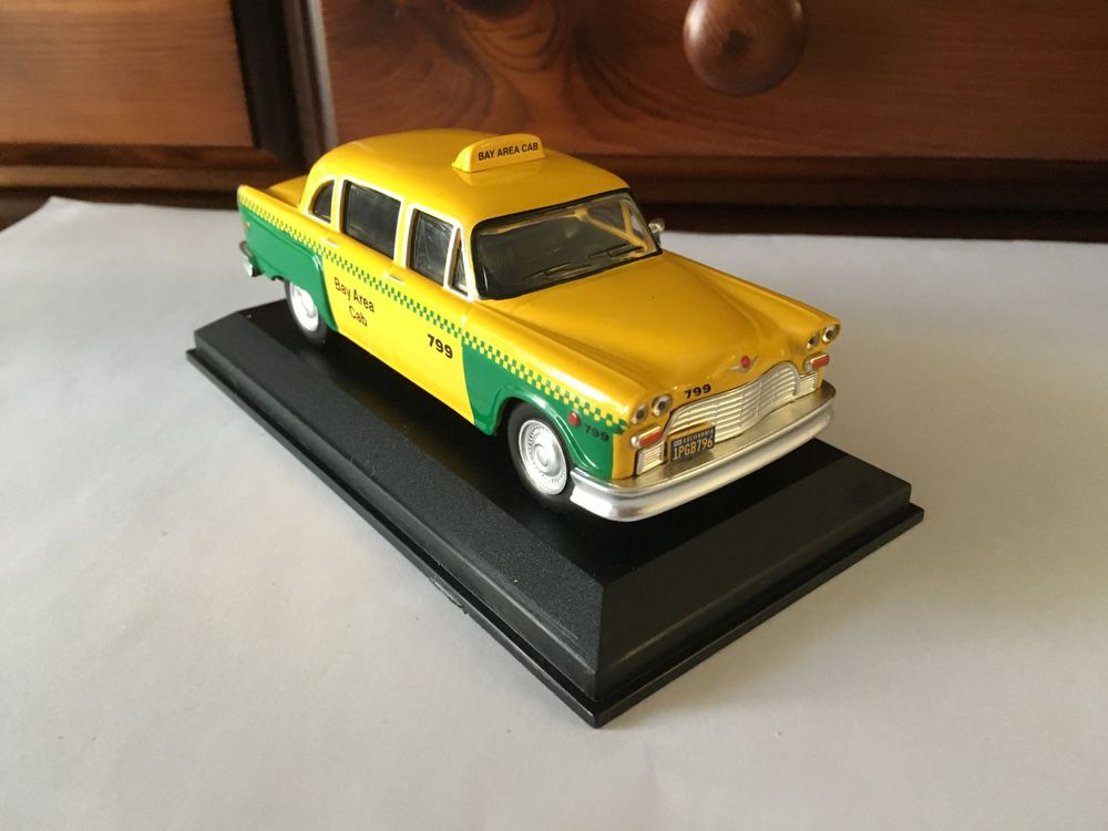 Checker 1980 Taxi San Francisco 1:43 IXO