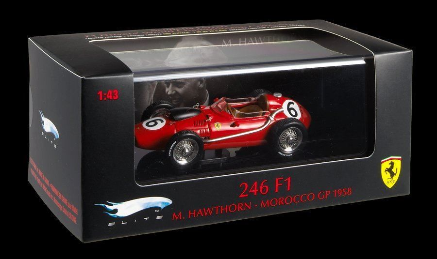Hot Wheels Elite - Ferrari M. Hawthorn
