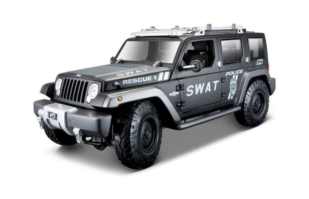 Jeep Rescue SWAT Police