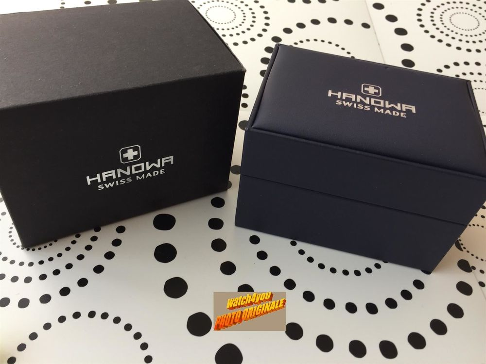 HANOWA SWISS MADE - BOX ECRIN !!!