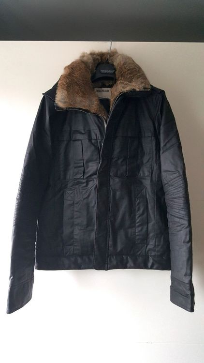 Zadig & Voltaire Jacke waxed Gr. M 38