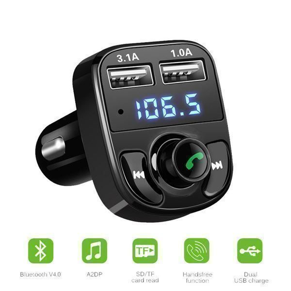 FM Transmitter Radio Auto Bluetooth KFZ
