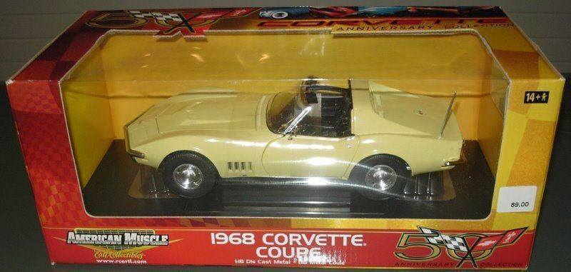 Corvette Coupé 1968 1:18 American Muscle