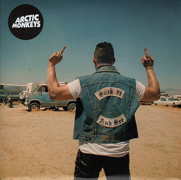 """Arctic Monkeys - Suck it and see (7"""") 1"""