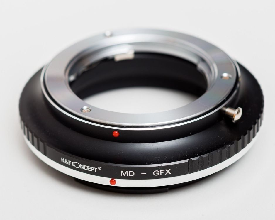Minolta MD zu Fuji GFX adapter