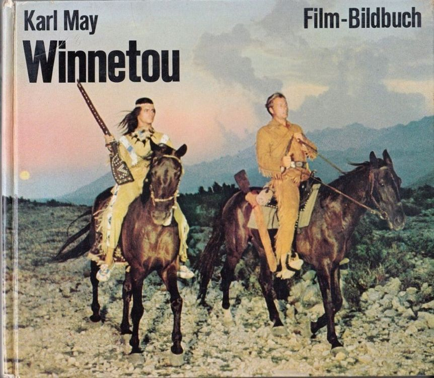 Winnetou 1 Karl May Film-Bildbuch