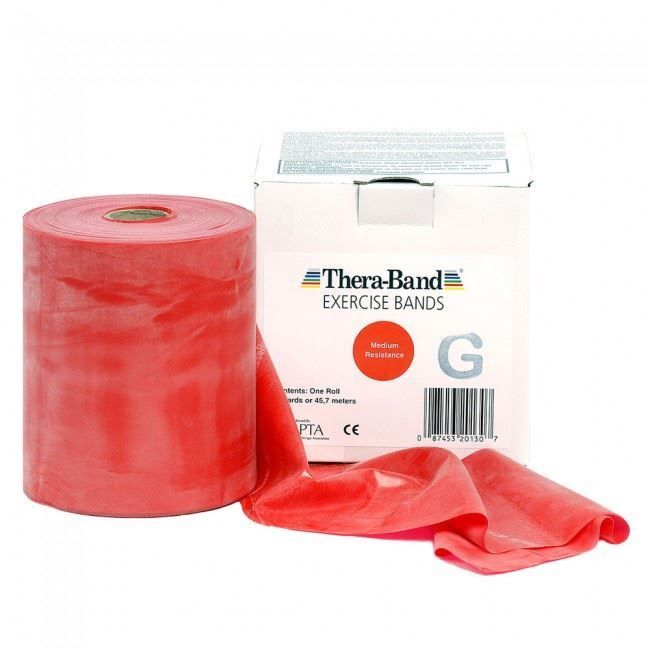 Thera-Band rot 45 Meter Rolle