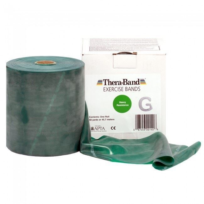 Thera-Band grün 45 Meter Rolle