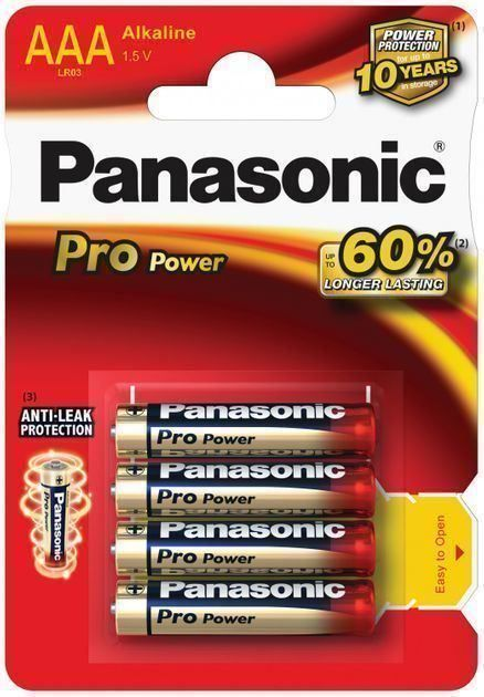 Panasonic Pro Power LR03 AAA Batterie 4