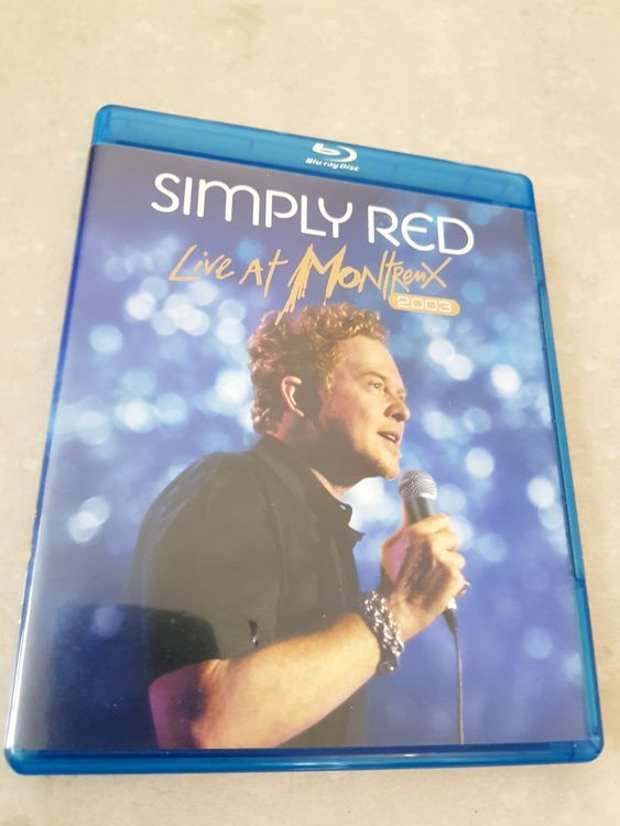 SIMPLY RED -live at montreux 2003-BLURAY