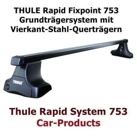 Thule 753 I-Reling BMW X4 G02 2019-