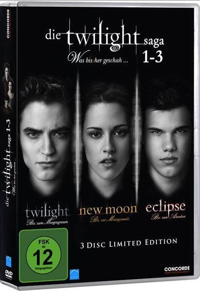 Die Twilight Saga 1-3 [Limited Edition]