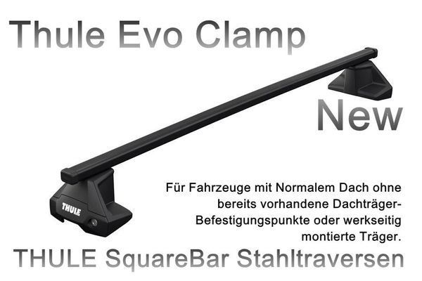 Thule 7105 S-EVO Clamp Chrysler Town Cou