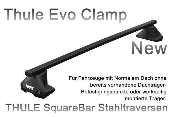 Thule 7105 S-EVO Clamp CITROEN DS5 5-tür