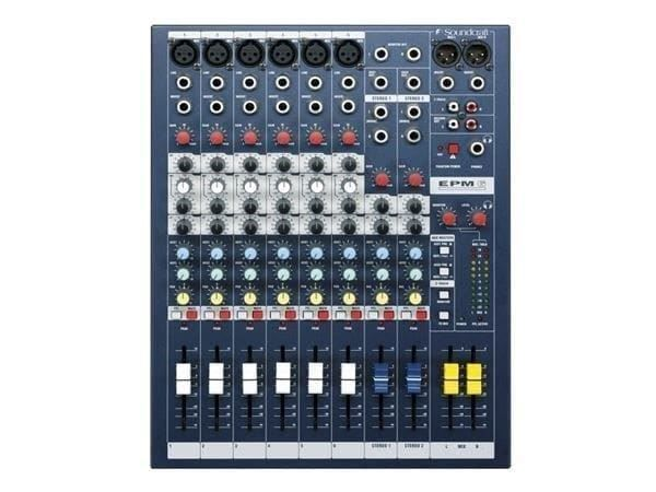 Soundcraft EPM6 · Mischpult
