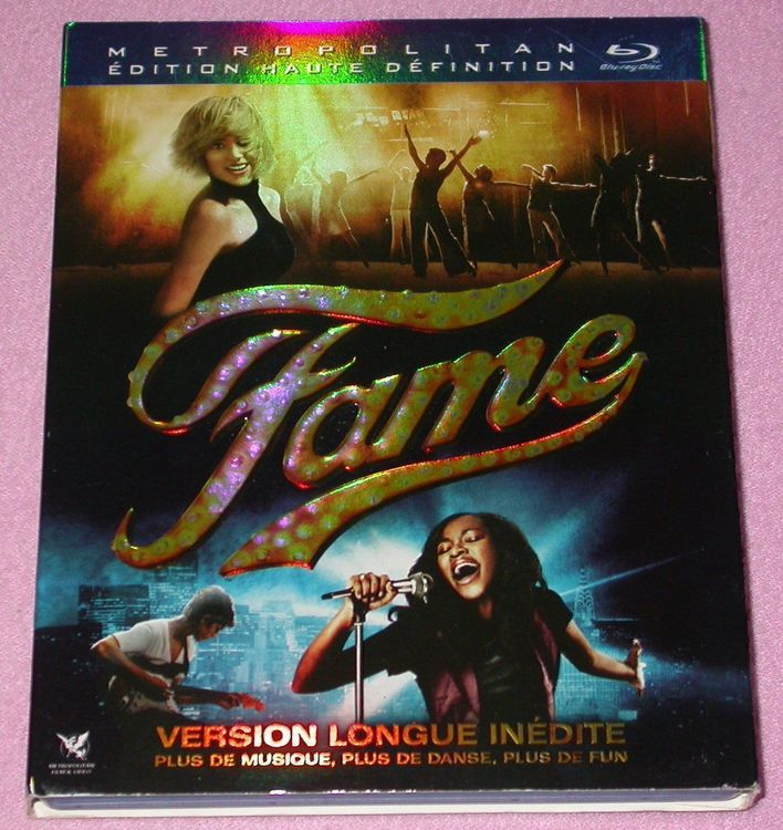 Fame Bluray comme neuf