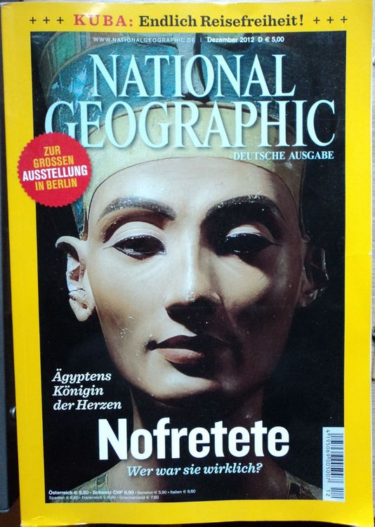 National Geographic Zeitsc. 2012 – 8Stk.
