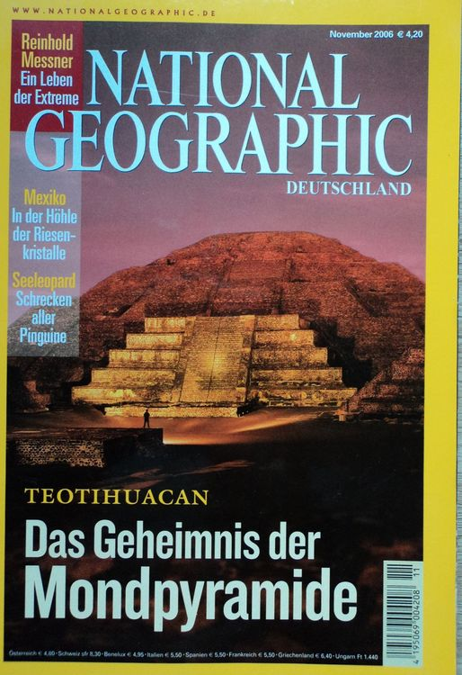 National Geographic 2006/2007/2016 – 6St