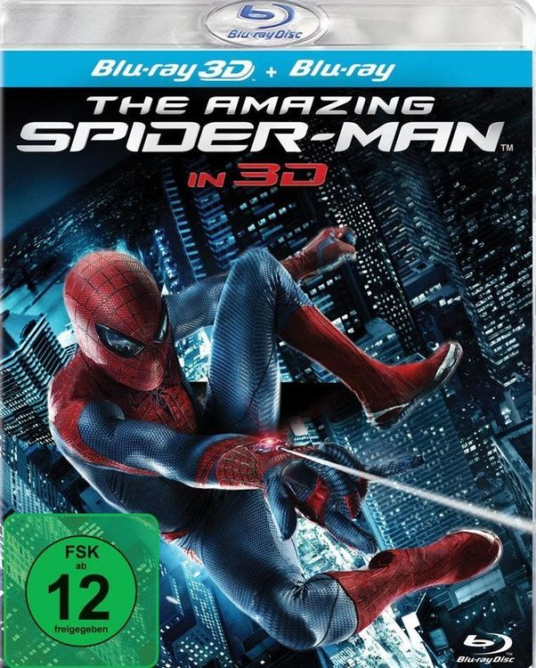 The Amazing Spider-Man 3D (Blu-ray 3D