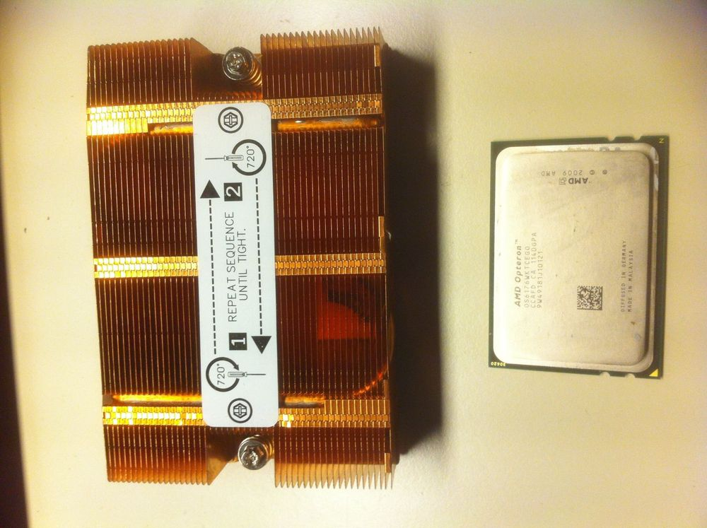 AMD Opteron 6176-2.3 GHz 6MB L3 -12 core
