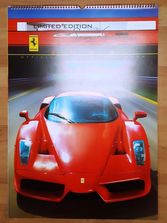 "Ferrari Kalender ""Off. Raupp Edit."" 2003"