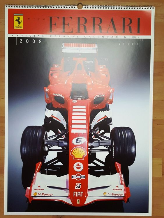 "Ferrari Kalender ""Off. Raupp Edit."" 2008"