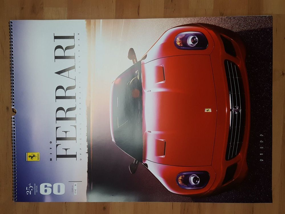 "Ferrari Kalender ""Off. Raupp Edit."" 2009"