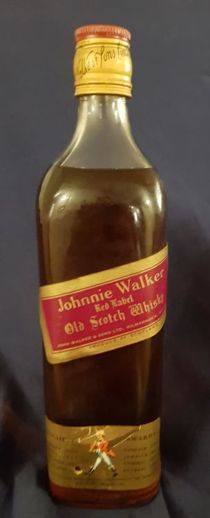 Alter Johnnie Walker Red Label  Whisky